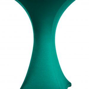Statafel rok Stretch Groen 80 cm
