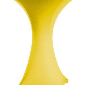 Statafel rok Stretch Geel 80 cm